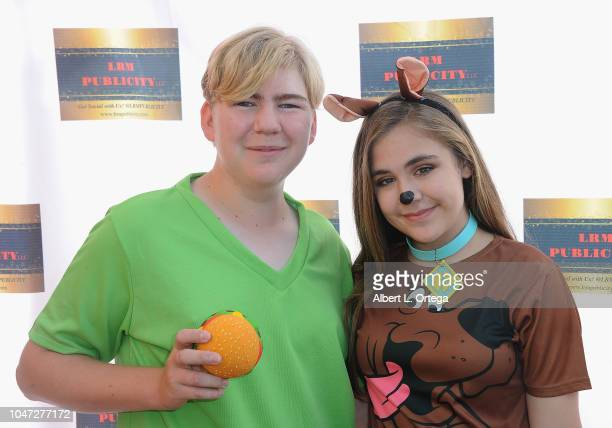 Connor Dean and Alyssa de Boisblanc arrive for Jax Malcolm's 3rd Annual #ActionJax Movie Morning Fundraiser held at the Vista Theatre on October 7...