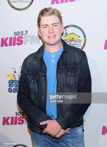 Connor Dean attends A Place Called Home's Annual Stars And Strikes Celebrity Bowling And Poker Tournament at PINZ Bowling Entertainment Center on...