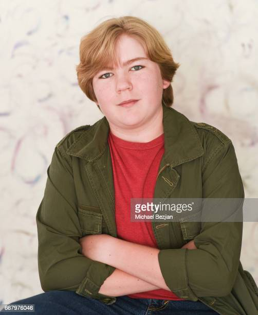 Connor Dean poses for portrait at The Artists Project on April 12 2017 in Los Angeles California