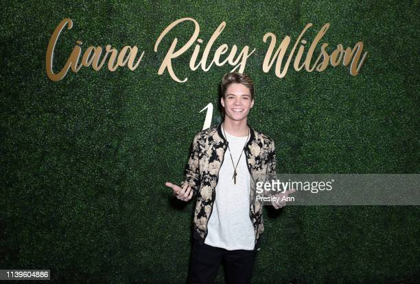 Connor Finnerty attends Ciara Riley Wilson's 18th birthday party at The Venue of Hollywood on March 31 2019 in Hollywood California