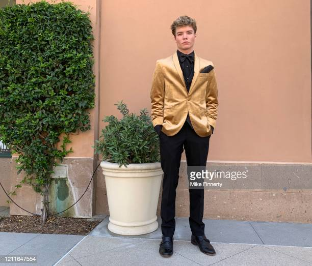 Connor Finnerty attends #SaveProm a virtual prom for high school kids hosted by My School Dance and Charlotte's Closet on May 2 2020 in Valencia...