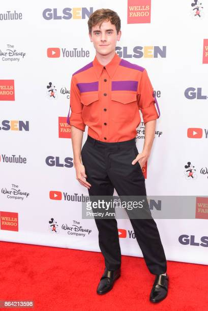 Connor Franta attends 2017 GLSEN Respect Awards Arrivals at the Beverly Wilshire Four Seasons Hotel on October 20 2017 in Beverly Hills California