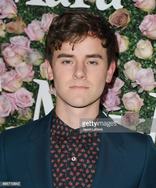 Connor Franta attends Max Mara and Vanity Fair's celebration of Women In Film's Face of the Future Award recipient Zoey Deutch at Chateau Marmont on...