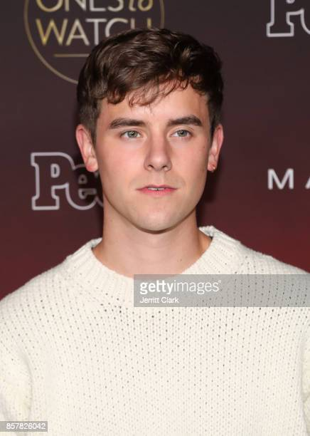 Connor Franta attends People's 'Ones To Watch' at NeueHouse Hollywood on October 4 2017 in Los Angeles California