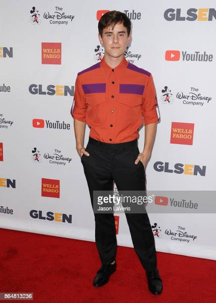 Connor Franta attends the 2017 GLSEN Respect Awards at the Beverly Wilshire Four Seasons Hotel on October 20 2017 in Beverly Hills California