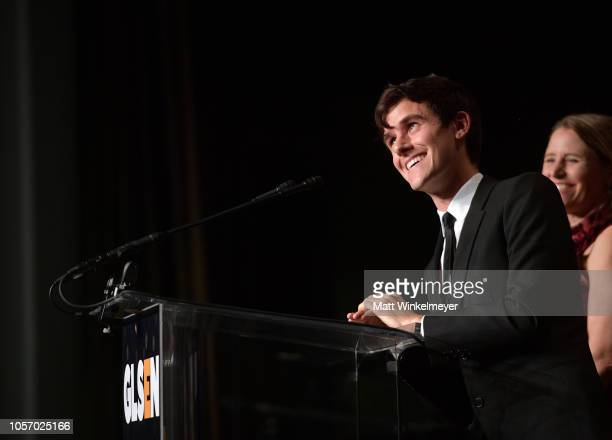 Connor Franta attends the GLSEN Respect Awards at the Beverly Wilshire Four Seasons Hotel on October 19 2018 in Beverly Hills California