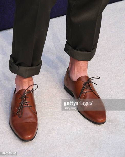 Connor Franta shoe detail attends Variety's Power of Young Hollywood event presented by Pixhug with Platinum Sponsor Vince Camuto at NeueHouse...