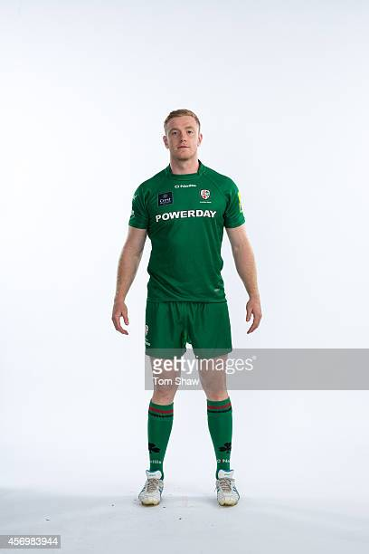 Connor Gilsenan of London Irish poses for a picture during the BT PhotoShoot at Sunbury Training Ground on August 27 2014 in Sunbury England
