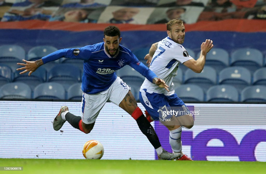 Rangers v Lech Poznan: Group D - UEFA Europa League : ニュース写真