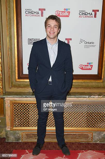 Connor Jessup attends Canada's 150th Anniversary in Pictures at Elgin and Winter Garden Theatre Centre on January 26 2017 in Toronto Canada