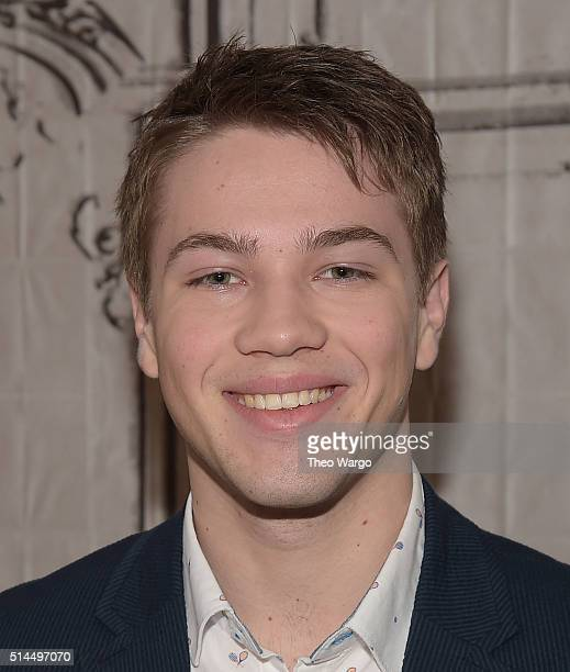 Connor Jessup attends the AOL Build Speakers Series Connor Jessup American Crime at AOL Studios In New York on March 9 2016 in New York City