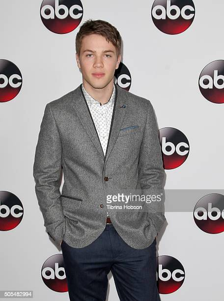 Connor Jessup attends the Disney/ABC 2016 Winter TCA Tour at Langham Hotel on January 9 2016 in Pasadena California