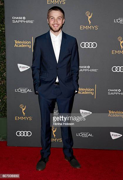 Connor Jessup attends the Television Academy reception for Emmy Nominees at Pacific Design Center on September 16 2016 in West Hollywood California