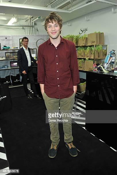 Connor Jessup attends W Magazine NKPR IT Lounge Studio Day 3 2015 Toronto International Film Festival at TIFF Bell Lightbox on September 11 2015 in...