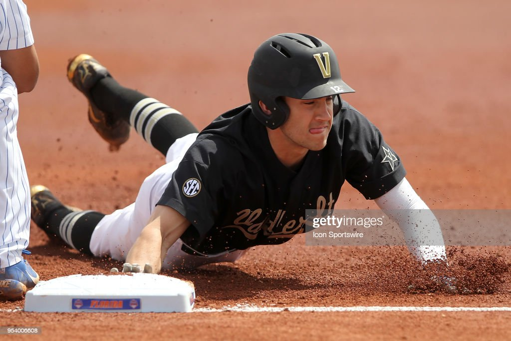 COLLEGE BASEBALL: MAR 31 Vanderbilt at Florida : News Photo
