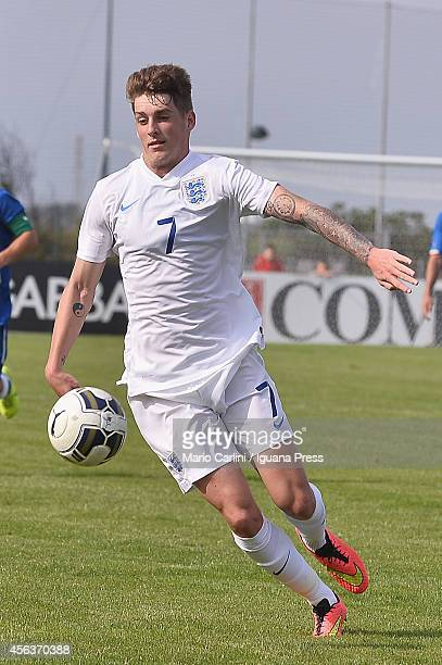 Connor mahoney of England U 18 in action during the international friendly match between Italy U18 and England U18 on September 24 2014 in Caorle...