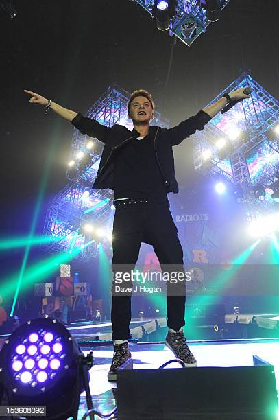 Connor Maynard performs at the BBC Radio 1 Teen Awards 2012 at Wembley Arena on October 7 2012 in London England