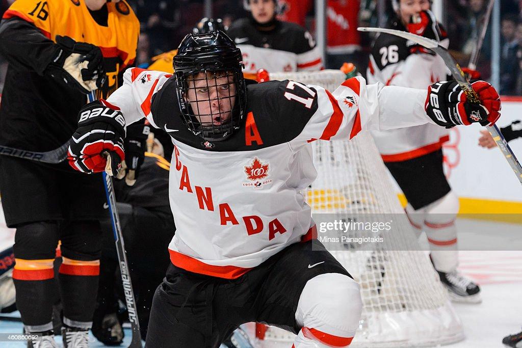 Canada v Germany - 2015 IIHF World Junior Championship : News Photo