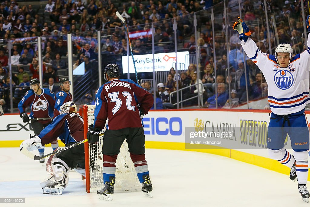 Edmonton Oilers v Colorado Avalanche : News Photo