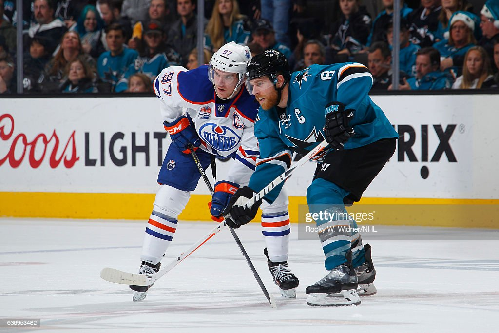 Edmonton Oilers v San Jose Sharks : News Photo
