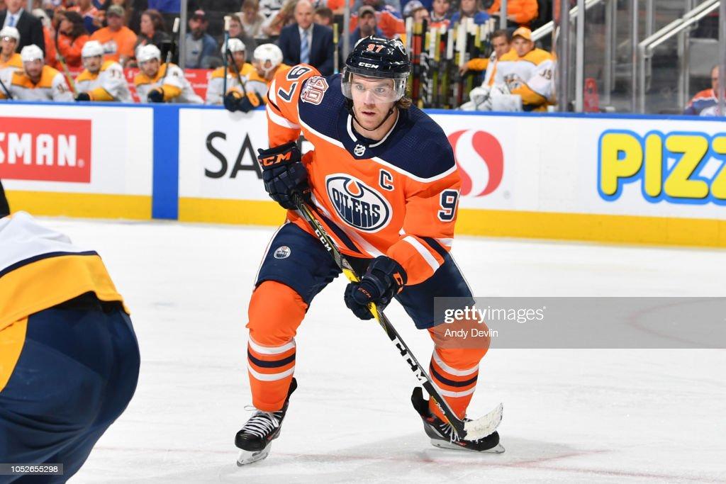 Nashville Predators v Edmonton Oilers : News Photo