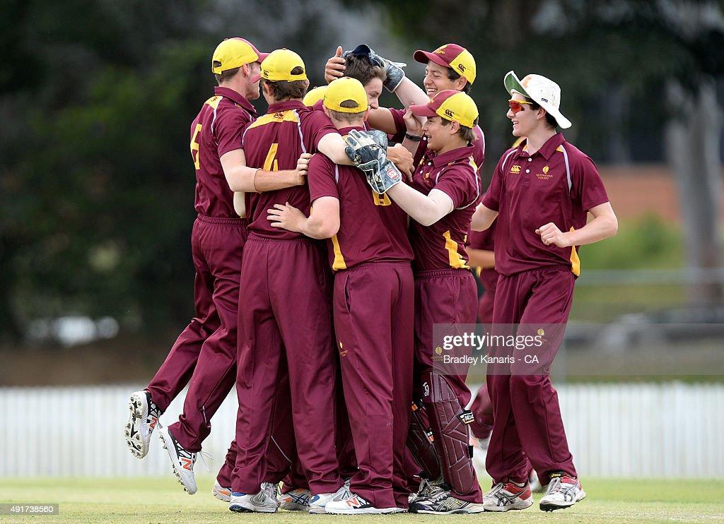Cricket Australia U17 Championship Final : ニュース写真