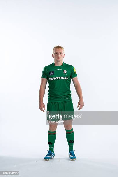 Connor Murphy of London Irish poses for a picture during the BT PhotoShoot at Sunbury Training Ground on August 27 2014 in Sunbury England