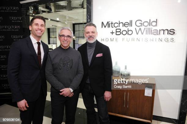 Connor Nix Mitchell Gold and Bob Williams attend the New York Magazine Bloomingdale's celebration of the new Mitchell Gold Bob Williams ShopinShop at...