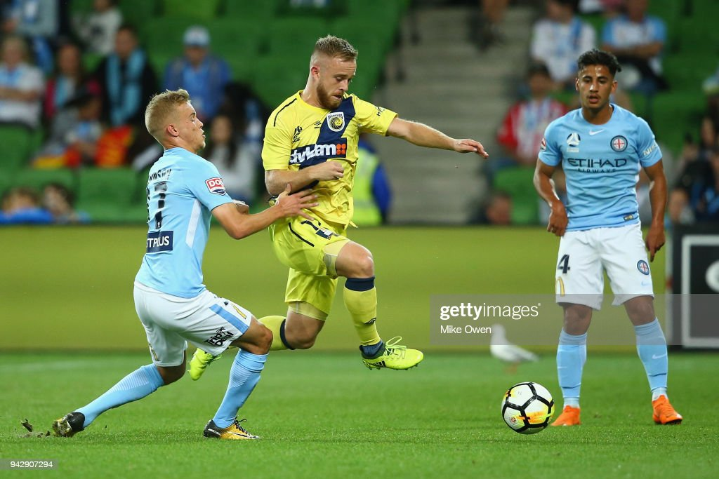 A-League Rd 26 - Melbourne v Central Coast : News Photo
