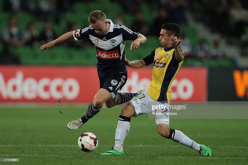 A-League Rd 22 - Melbourne v Central Coast