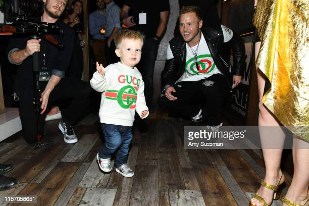 Connor Pratt and Spencer Pratt attend the party for the premiere of MTV's The Hills New Beginnings at Liaison on June 19 2019 in Los Angeles...