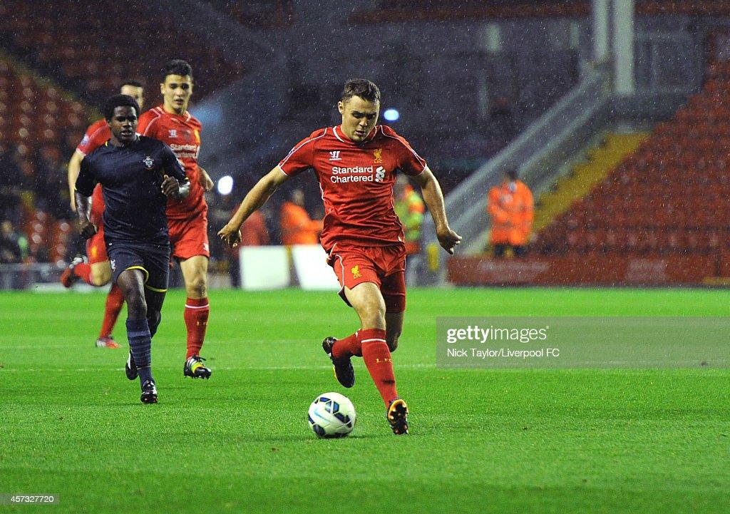 Liverpool v Southampton - Barclays U21 Premier League : News Photo