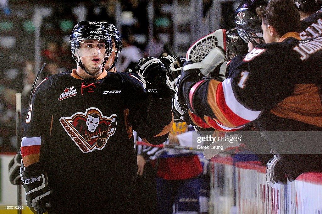 Edmonton Oil Kings v Calgary Hitmen : News Photo
