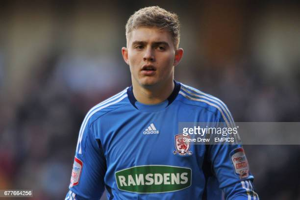 Connor Ripley Middlesbrough goalkeeper