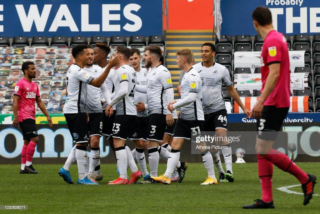 Swansea City v Derby County - Sky Bet Championship : News Photo