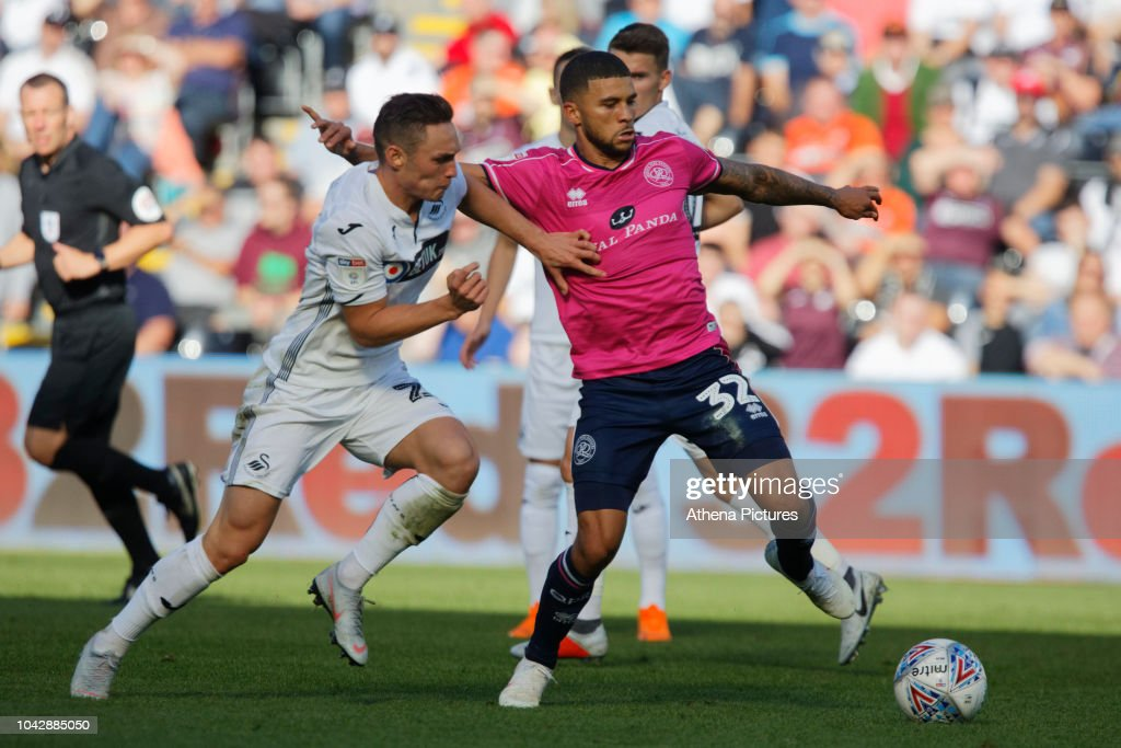 Swansea City v Queens Park Rangers- Sky Bet Championship : Nyhetsfoto