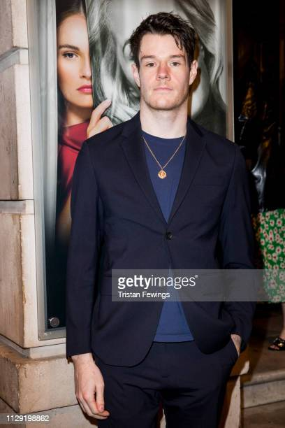 Connor Swindells attends the All About Eve press night at Noel Coward Theatre on February 12 2019 in London England