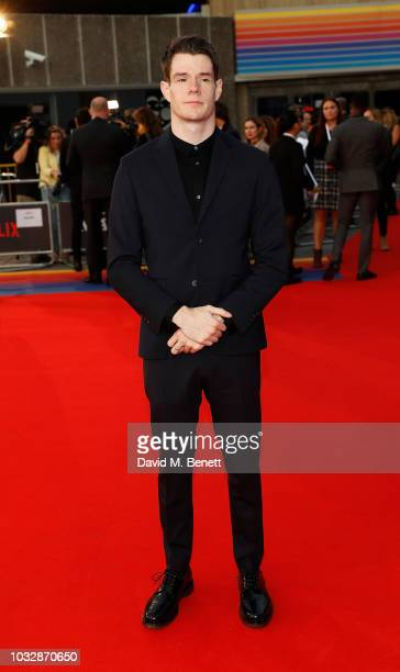 Connor Swindells attends the World Premiere of the new Netflix series Maniac at the Southbank Centre on September 13 2018 in London England