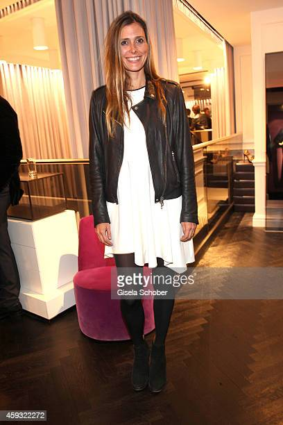 Conny Lehmann during MaryKate Olsen and Ashley Olsen present their collection 'The Row' at Marion Heinrich on November 20 2014 in Munich Germany