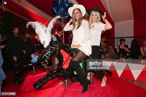 Conny Lehmann, Tina Kaiser during the Bild 'Place to B' Party at Borchardt during the 66th Berlinale International Film Festival Berlin on February...
