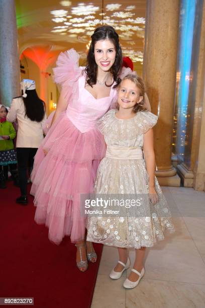 Conny Mooswalder and Ina Hofer attend the Energy for Life Christmas gala for Children at Hofburg Vienna on December 14 2017 in Vienna Austria