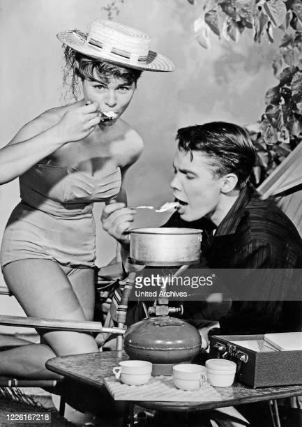Conny und Peter machen Musik, Deutschland 1960, Regie: Werner Jacobs, Darsteller: Cornelia Conny Froboess, Peter Kraus.