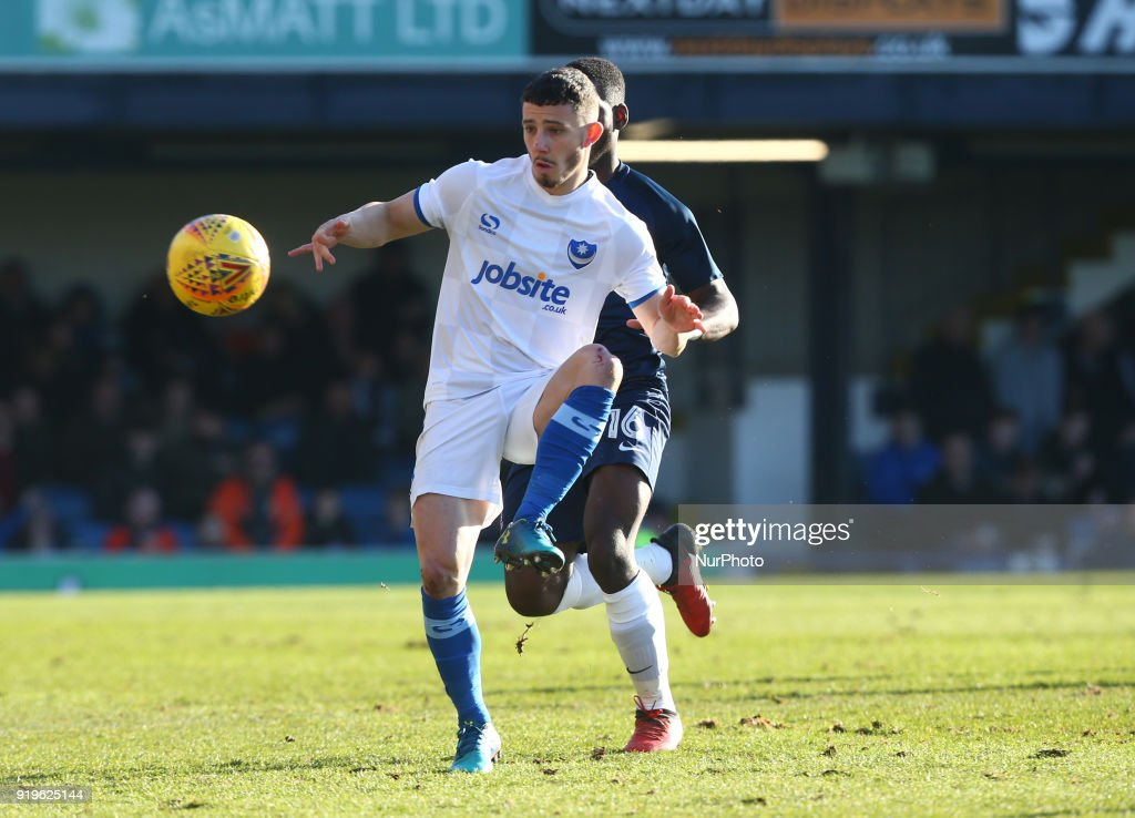 Southend United v Portsmouth - Sky Bet League One
