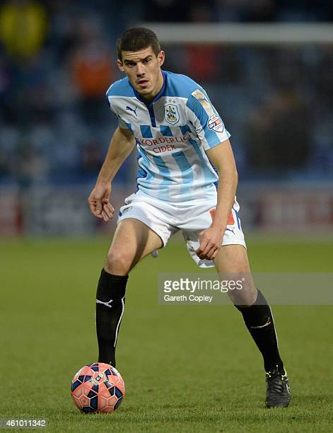Conor Coady of Huddersfield during the FA Cup Third Round match between Huddersfield Town and Reading at Galpharm Stadium on January 3 2015 in...