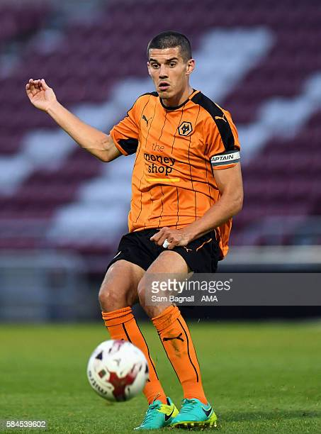 Conor Coady of Wolverhampton Wanderers during the PreSeason Friendly match between Northampton Town and Wolverhampton Wanderers at Sixfields Stadium...