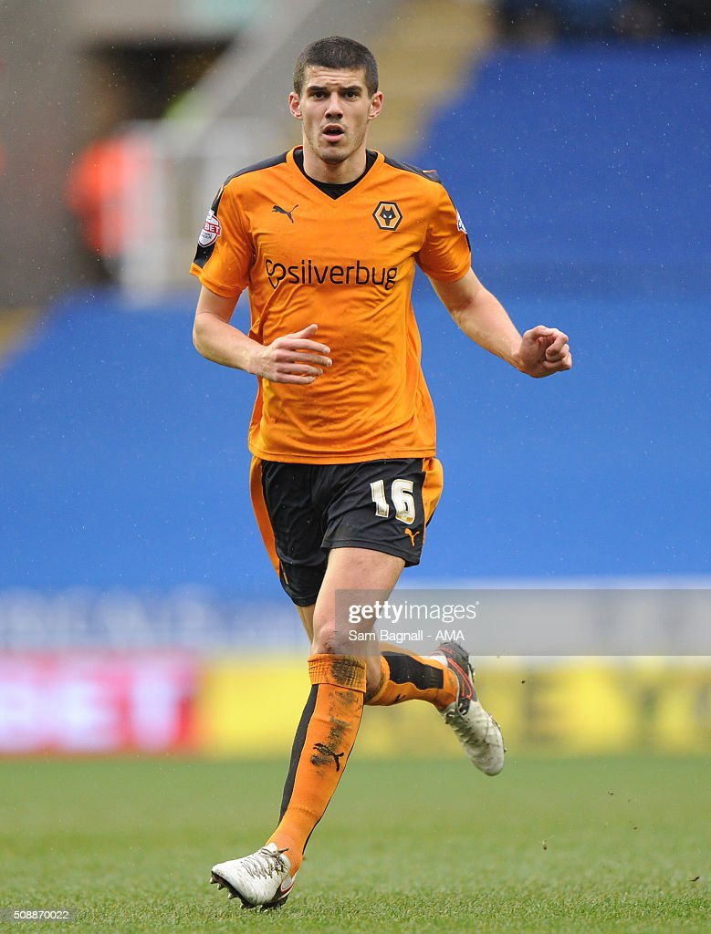 Conor Coady of Wolverhampton Wanderers during the Sky Bet Championship match between Reading and Wolverhampton Wanderers on February 6, 2016 in Sam Bagnall - AMA/Getty Images)