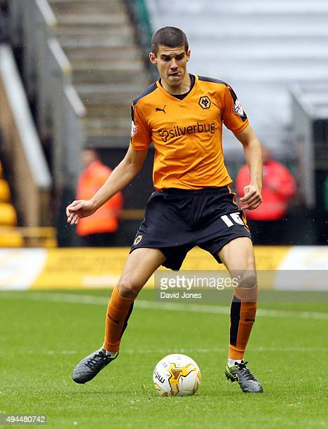 Conor Coady of Wolverhampton Wanderers in action during the Sky Bet Championship match between Wolverhampton Wanderers and Middlesborough at Molineux...