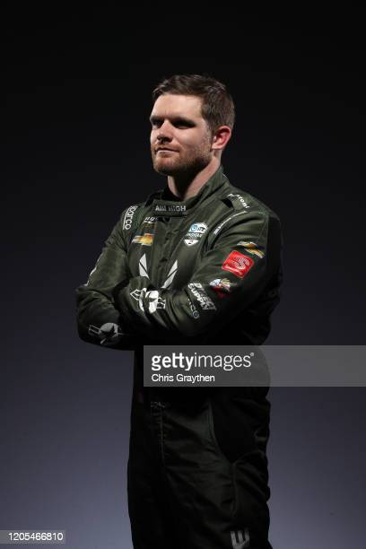 Conor Daly poses for a photo during IndyCar Content Day at Hilton Austin on February 10 2020 in Austin Texas