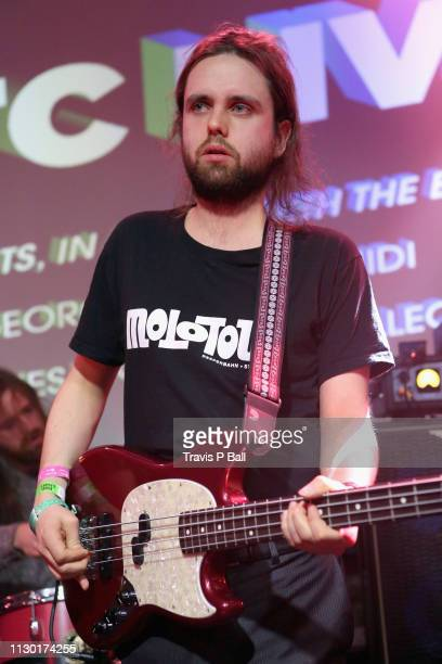 Conor Deegan III of Fontaines D.C. Performs onstage at ATC during the 2019 SXSW Conference and Festivals at Latitude 30 on March 12, 2019 in Austin,...