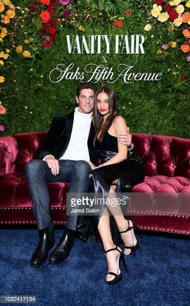 Conor Dwyer and Kelsey Merritt attend as Vanity Fair and Saks Fifth Avenue celebrate Vanity Fair's BestDressed 2018 at Manhatta on September 12 2018...